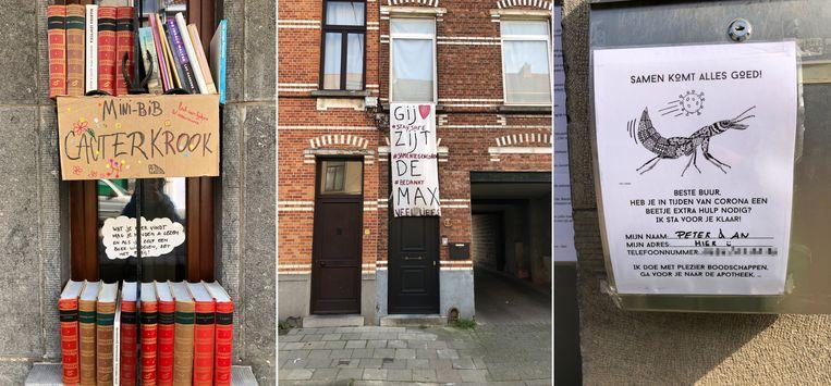 De Cecile Cautermanstraat in Gent.