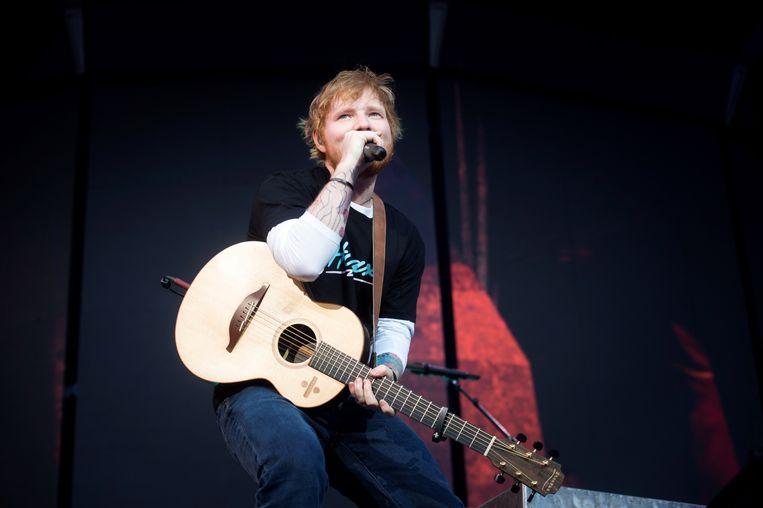 Ed Sheeran lanceerde zijn nieuwe single.