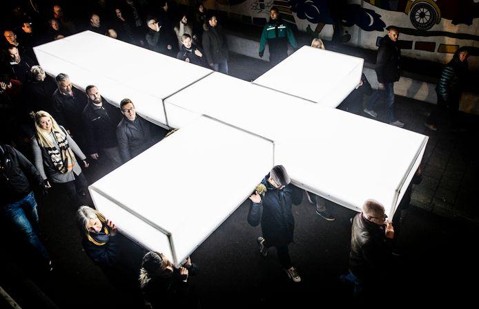 Toeschouwers kunnen op Witte Donderdag weer genieten van het jaarlijkse paasspektakel The Passion, ditmaal in Dordrecht.
