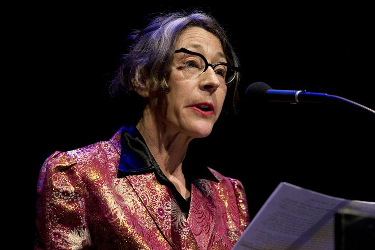 Dichteres Anneke Brassinga. Beeld anp