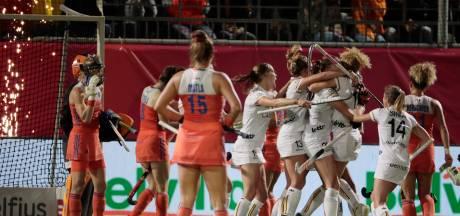Valse start hockeysters op EK: gelijkspel tegen België