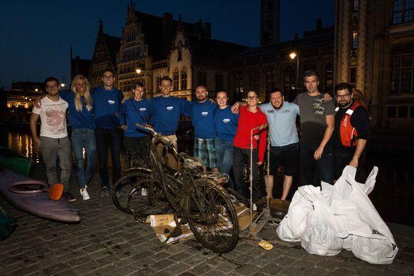 De afvalvissers, van Jong  Vld Gent