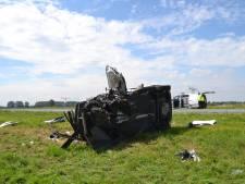 Dode en drie gewonden bij frontale botsing op Maas en Waalweg bij Afferden