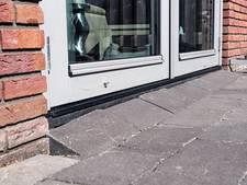 'Groningse toestanden' aan het Nonnetje in Bergen op Zoom: huizen verzakken