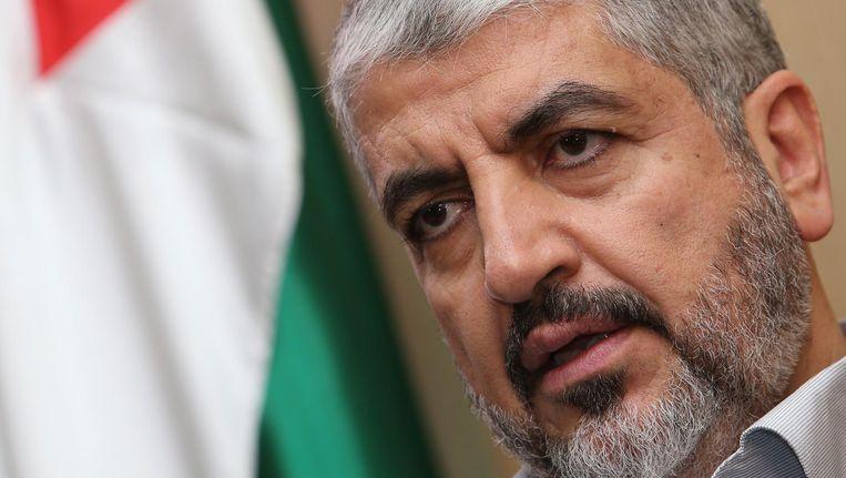 Khaled Meshaal, al sinds 1996 het hoofd van Hamas, krijgt volgende week een opvolger. Beeld null