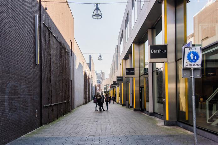 De Pieter Vreedestraat heeft volgens de gemeente als winkelstraat geen toekomst.