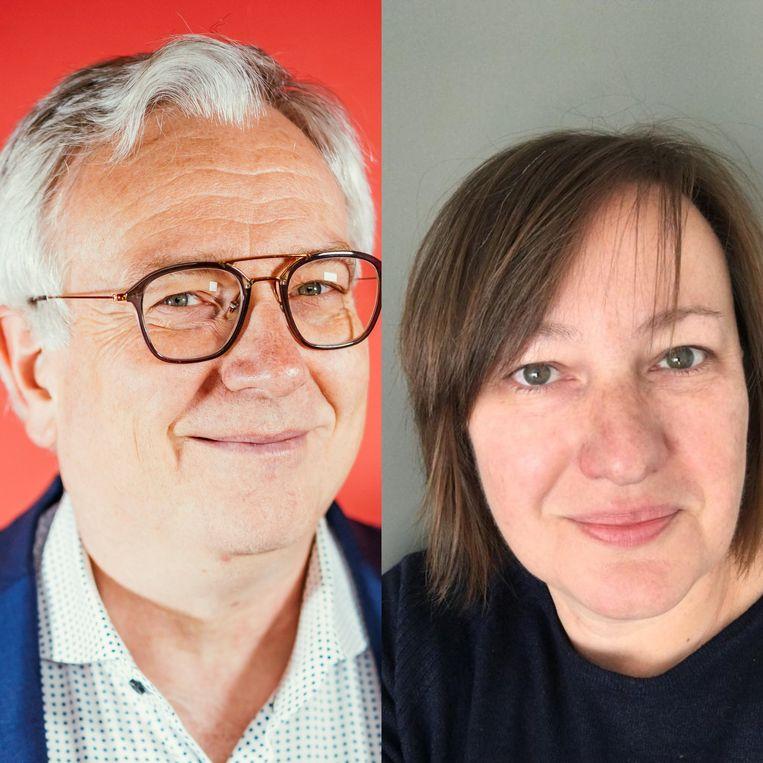 VUB-professor Dirk Devroey en huisarts Anne Marie Deleenheer.