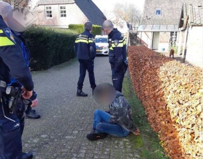 De verdachte werd al drie maanden gezocht door de politie.