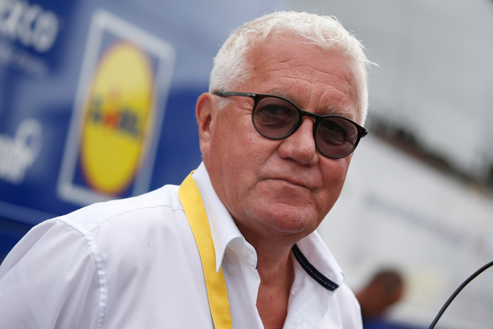 Quick Step-teambaas Patrick Lefevere.