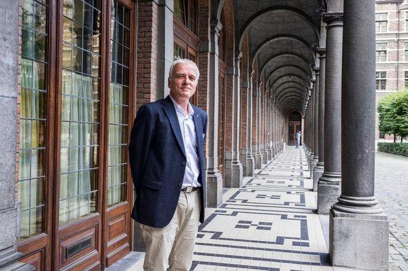 Rector van de UAntwerpen Herman Van Goethem
