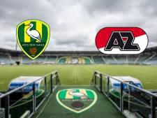 AZ speelt 'thuiswedstrijd' in uitduel met ADO Den Haag