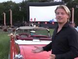 In een weiland is het eerste drive-in concert van Nederland