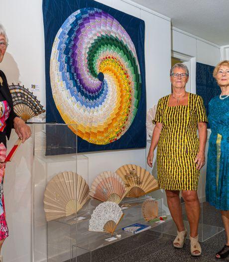 Vier zussen Van Eijsden exposeren samen in galerie Aventurijn in Epe