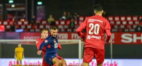 Treffers gezocht voor Helmond Sport: 'Als we zo blijven spelen, gaan we echt wel scoren'