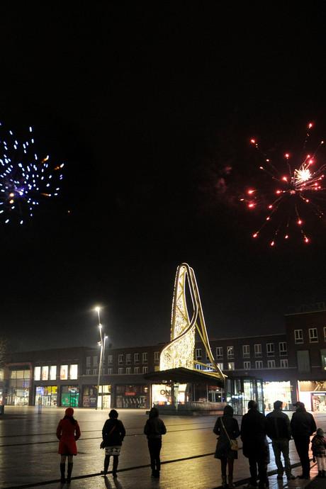 'Verbod op vuurwerk bij winkelcentrum Deppenbroek'