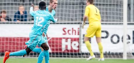 Heftige blessure voor Jong FC Twente-speler De Jager