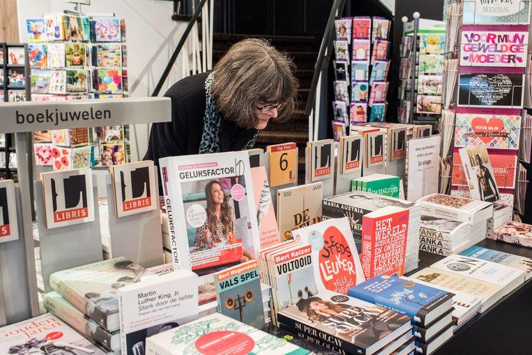 Boekhandel Broekhuis, Enschede.  Beeld Simon Lenskens