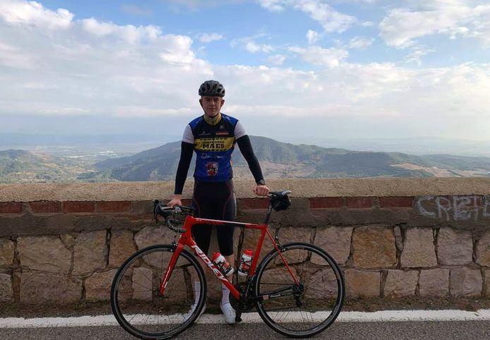 Jente Boons trainde de voorbije weken in de buurt van Barcelona.