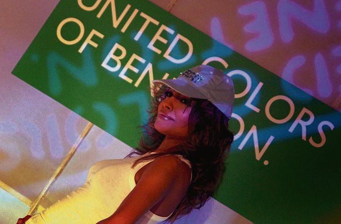 Foto ter illustratie.  Het modemerk Benetton is slachtoffer geworden van een professionele bende.