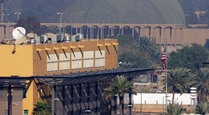 L'ambassade américaine à Bagdad, la capitale irakienne.
