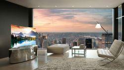 4 voordelen van een gebogen televisiescherm