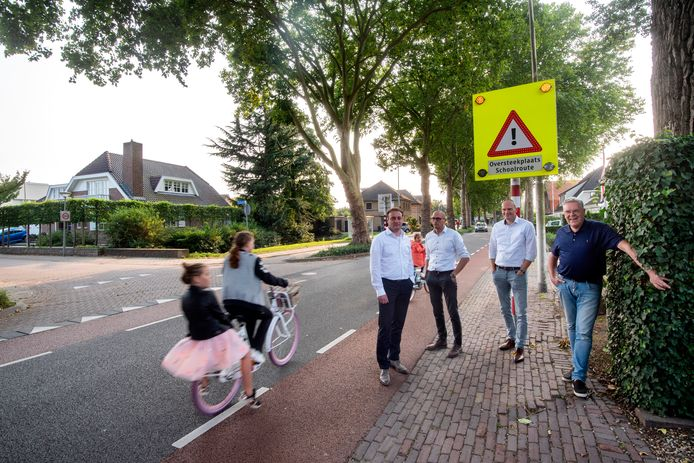 Onlangs kwamen de bewoners van de Huismanstraat al in actie vanwege de verkeersoverlast.