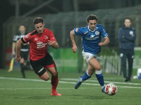 FC Den Bosch ook met man meer niet langs Helmond Sport