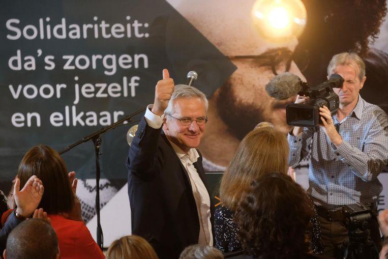 Kris Peeters bij de aftrap van de CD&V-campagne in Antwerpen.