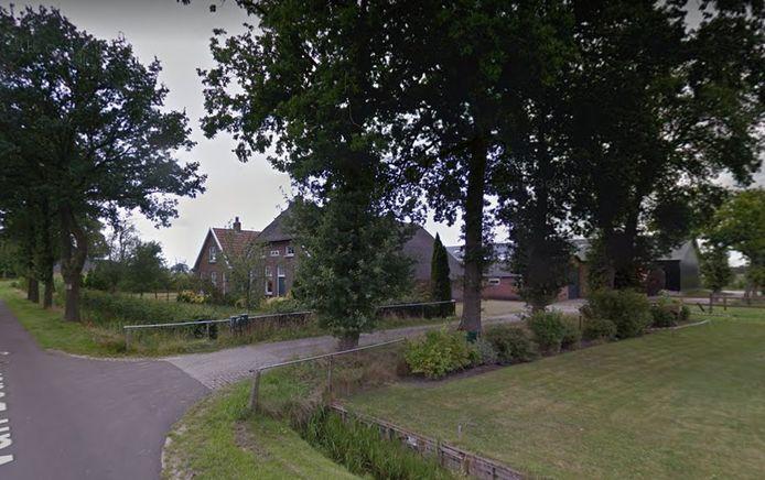 De Van Dedemweg in Punthorst.