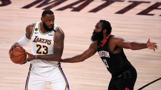 Lakers stoten door naar conferencefinale na winst tegen Rockets
