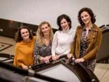 Tranen bij Hengelose Andrew Sisters: zangeressen altijd 'in the mood'