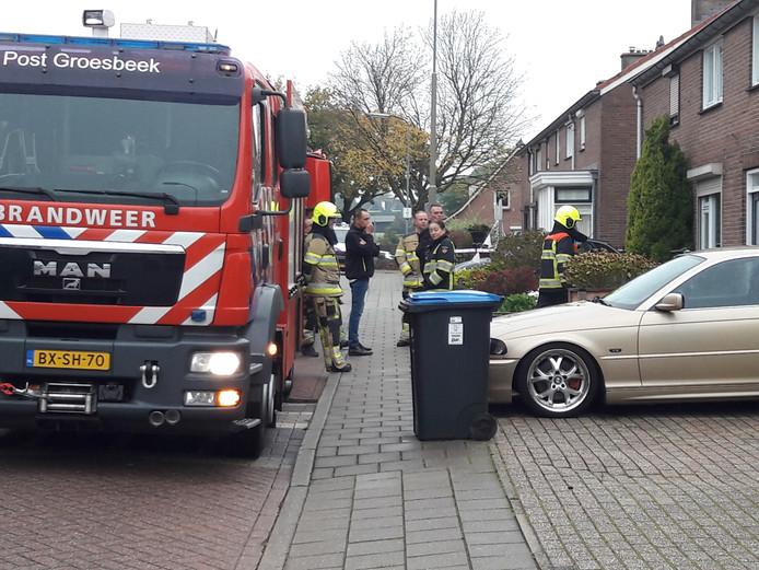 brandweer in schoolweg Breedeweg