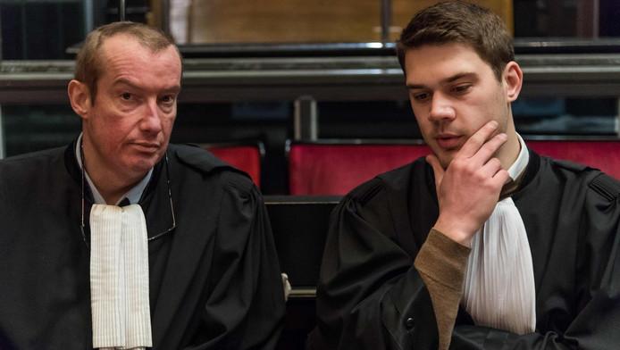Christian Dalne (à gauche)