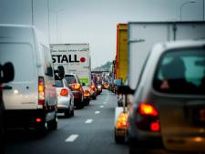 Vertraging na ongeluk op A50 bij Heerde voorbij