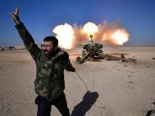 Iraakse troepen bestormen IS op vliegveld Mosul