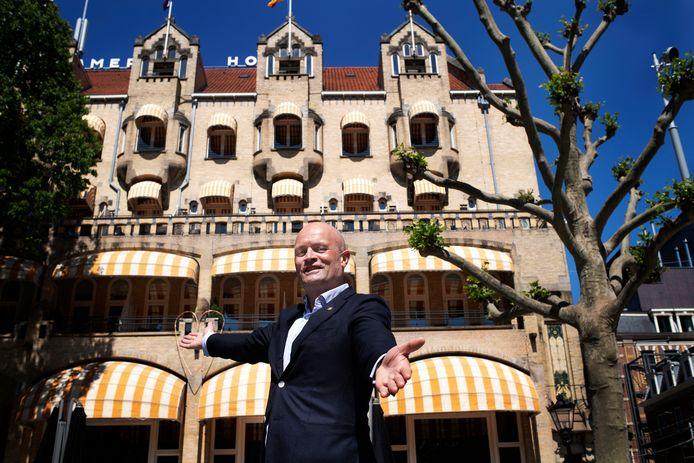 'Hoe maak je het voor hotelgasten interessant om ook in het hotel zelf van alles te doen', is de vraag voor Léon Dijkstra (foto) en zijn medewerkers.