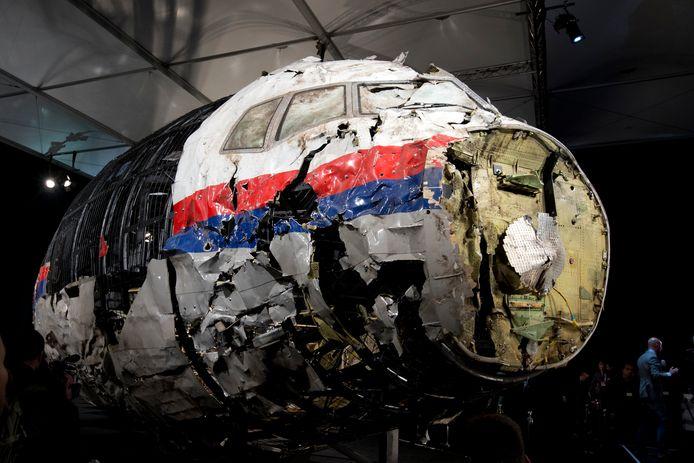 De Boeing 777 werd op 17 juli 2014  neergehaald. Alle inzittenden kwamen om.