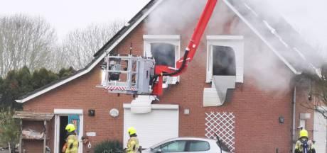 Drie doden bij woningbrand in Duiven: recherche doet onderzoek