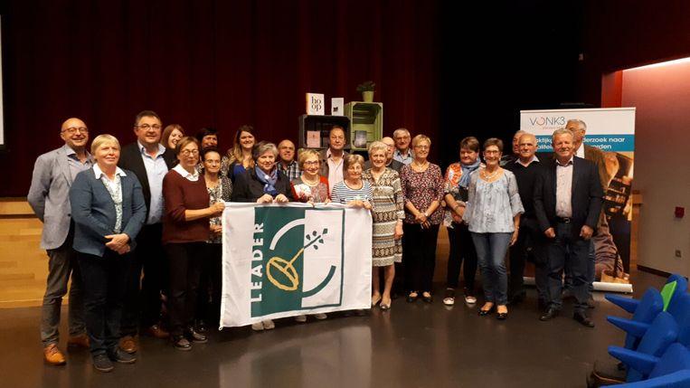 Het project 'Je staat niet alleen' kreeg steun van de provincie.