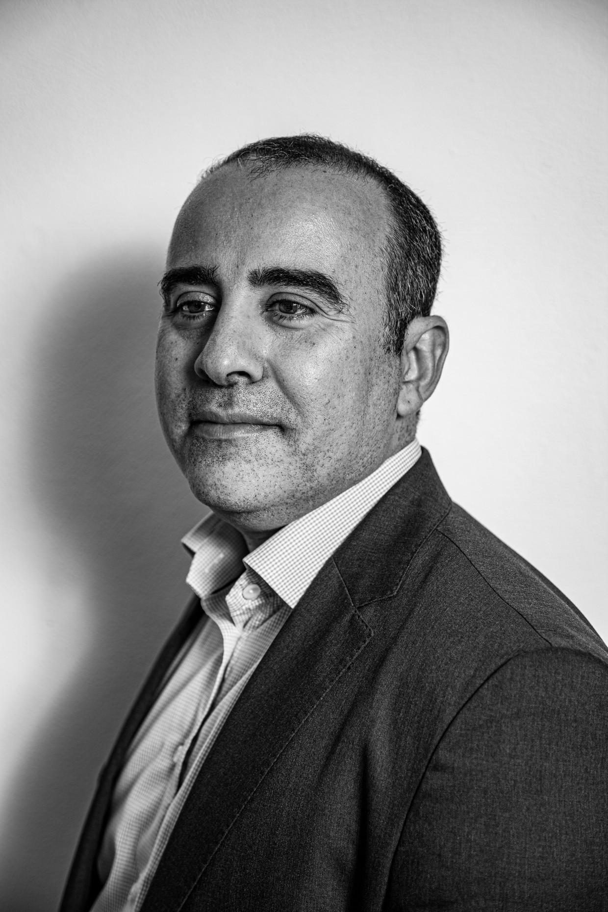 Achraf Bouali.  Beeld Ernst Coppejans