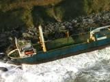 À la dérive depuis plus d'un an, un vaisseau fantôme réapparaît grâce à la tempête Dennis