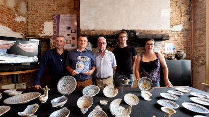 Jarig MVSA exposeert majolica-aardewerk