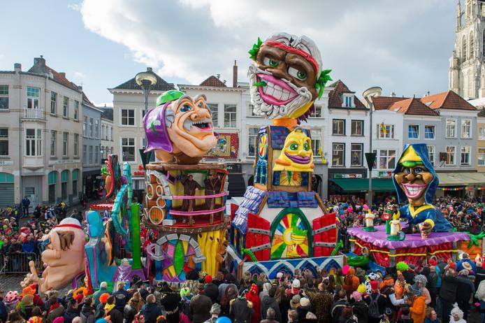 Carnaval Grote Optocht Breda 2018 met een stralend zonnetje.