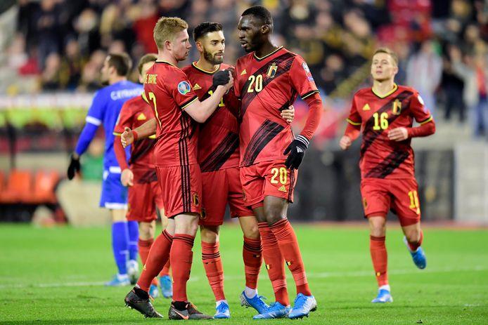 Après le premier tour de la Nations League et avant l'Euro, les Diables Rouges entameront leur parcours vers le Qatar en mars 2021.