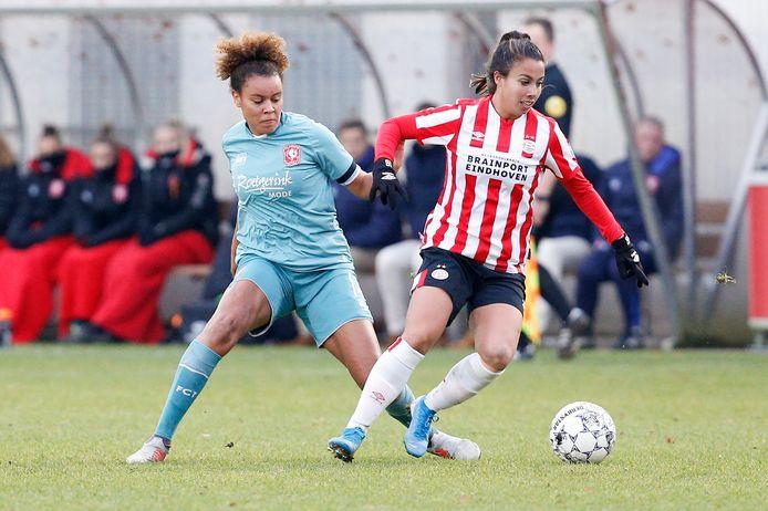 Naomi Pattiwael van PSV.