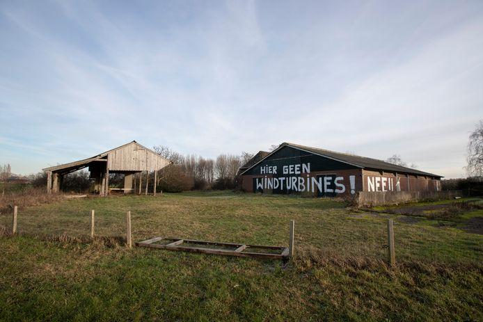 Inwoners in Eefde kalkten deze protesten eerder op een verlaten boerderij.