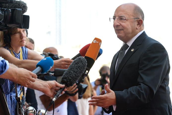 Le ministre maltais Michael Farrugia.