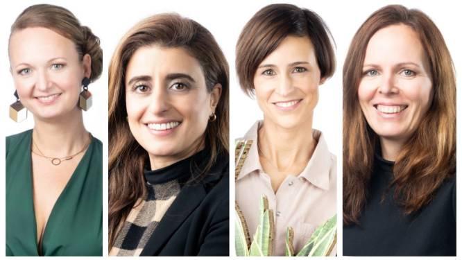 """Ontmoet de vier straffe vrouwen die genomineerd zijn als ondernemers van het jaar: """"Het voelt als een bekroning voor het afgelegde traject"""""""
