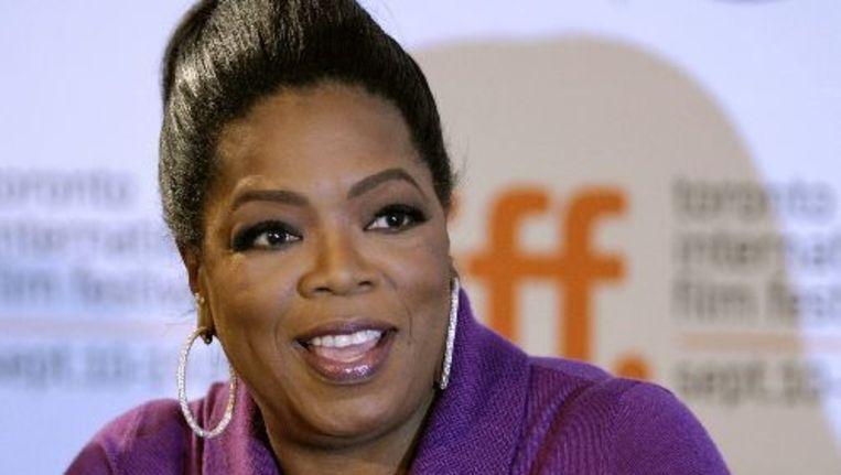 Winfrey maakt vrijdag bekend waarom ze na 25 seizoenen stopt. Mogelijk verplaatst ze de show naar haar eigen kabelzender Oprah Winfrey Network OWN. Foto ANP Beeld