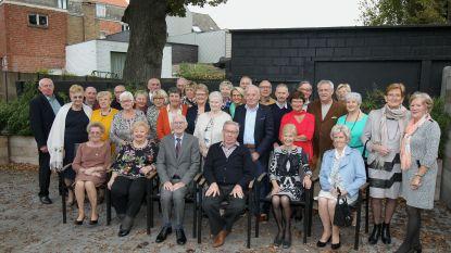 75-jarigen Waarschoot vieren samen verjaardag